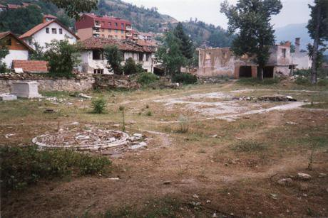 3. Foca.Aladza Mosque.after the war 1996.jpg