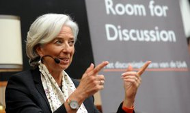Christine Lagarde, IMF Director, 2013