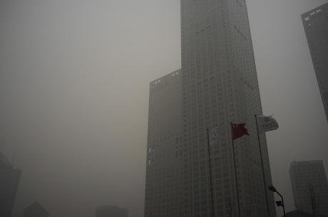 Smog in Beijing. Demotix/Nicola Longobardi. All rights reserved.