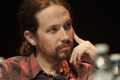 Pablo Iglesias in debate, February, 2014