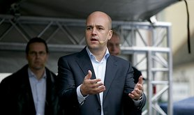 Swedish PM Fredrik Reinfeldt. Demotix/Sonny Johansson. All rights reserved.