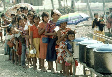 Guatemalan children living in refugee camp. UN Photo/Pat Goudvis/Flickr. Some rights reserved.