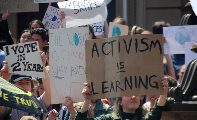 Activism is Learning - #climatestrike Melbourne, November 30, 2018