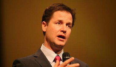 Former Liberal Democrat leader and Deputy PM Nick Clegg.