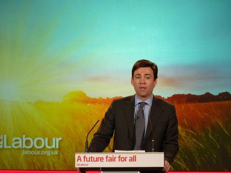Labour leadership candidate Andy Burnham.