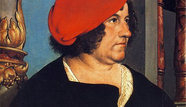 Holbein's portrait of Jakob Meyer, banker. http://upload.wikimedia.org/wikipedia/commons/thumb/9/94/Jakob_Meyer%2C_by_Hans_Holbein_the_Younger.jpg/458px-Jakob_Meyer%2C_by_Hans_Holbein_the_Younger.jpg
