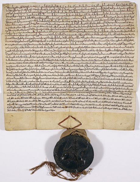 Forest Charter, 1225. Additional Charter, British Library.