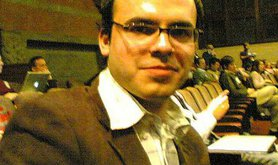 Hossein Derakshan, Iranian-Canadian journalist and blogger, 2004.