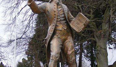 Thomas Paine statue, Thetford, Norfolk.