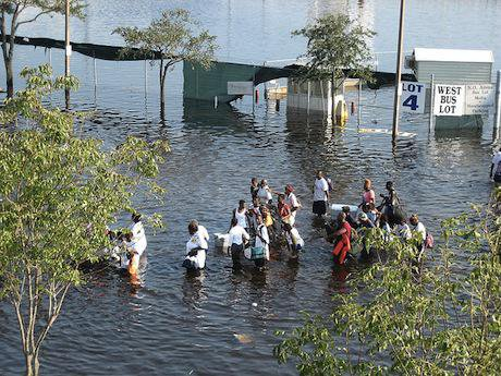 Hurricane Katrina, 2005. Flickr/News Muse. Some rights reserved.