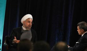 Iranian President Rouhani speaks at New America event in New York City
