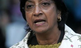 United Nations High Commissioner for Human Right, Navanethem Pillay.
