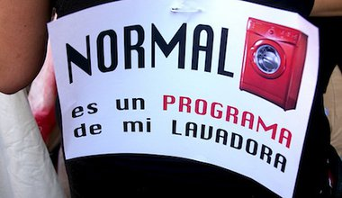 "'Normal is a programme on my washing machine"". Flickr/gaelx. Some rights reserved."
