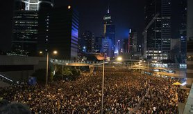 Hong Kong protests, September 2014. Demotix/Xian Jun. All rights reserved.