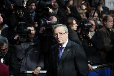 Jean-Claude Juncker. Demotix/Stanescu Lucian. All rights reserved.