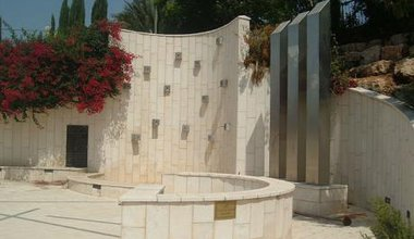 Monument to Israeli Arab casualties in October 2000 riots, Nazareth