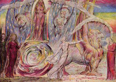 William Blake, Dante's Purgatorio. Canto XXX.