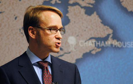 Jens Weidmann, President of Deutsche Bundesbank speaks on Rebalancing Europe, 2012.