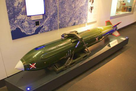 640px-Imperial_War_Museum_North_-_WE_177_British_nuclear_bomb_(training_example)_1.jpg