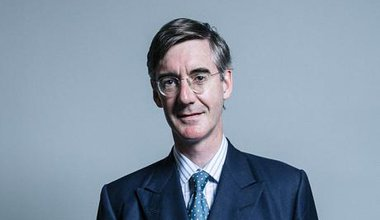 Jacob Rees-Mogg, official portrait