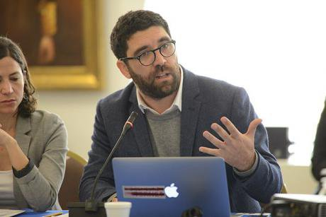 Claudio Ruiz, Executive Director of the NGO Derechos Digitales, in 2014. Wikicommons/Comision Interamaericana de Derechos Humano