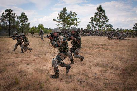 The Indian Army's 5th Gurkha Rifles
