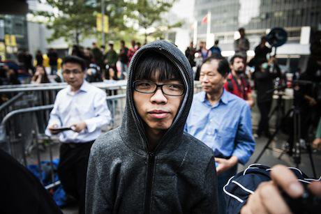 Joshua Wong. Demotix/David Smith. All rights reserved.