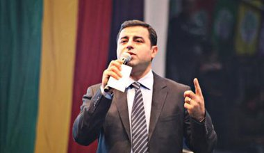 HDP co-leader, Selahattin Demirtaş, January, 2015.