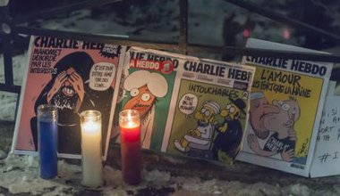 Je Suis Charlie vigil in New York