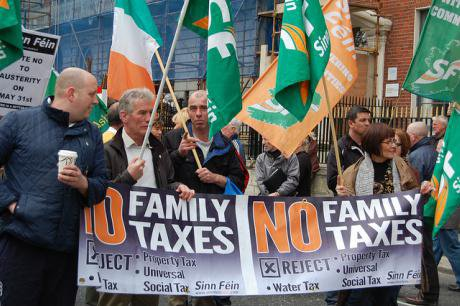 Sinn Fein rally in 2012