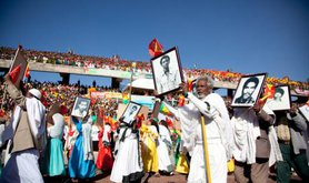 Ethiopia's TPLF ruling party celebrates 40th anniversary.