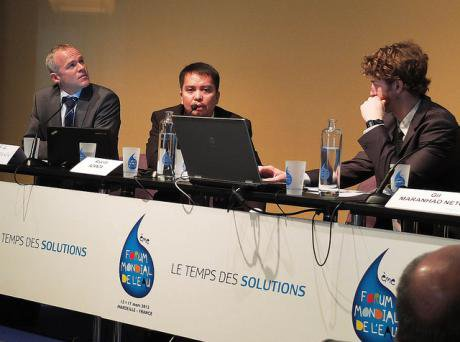 World Water Forum 6, Marseille, France, 2012.