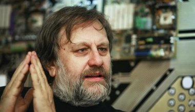 Slavoj Žižek. (Fair use)