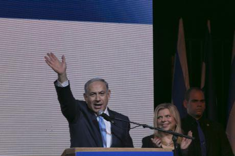PM Netanyahu claims victory in Israeli election.