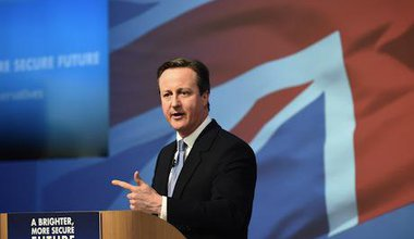 Prime Minister David Cameron. Demotix/Pete Dewhirst. All rights reserved.