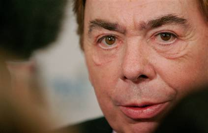 Lord Andrew Lloyd Webber, expert judge on ITV's 'Superstar', a reality TV programme to find the lead role for a touring production of Lloyd Webber's 'Jesus Christ Superstar'.