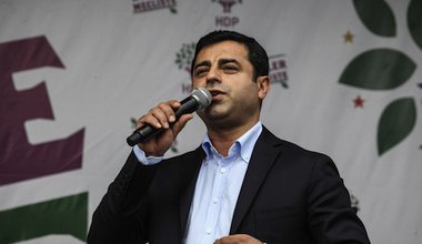 The big winner Serlahattin Demirtaş. Demotix/ Avni Kantan. All rights reserved.