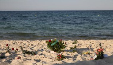 Farewell messages to hotel attack victims, Sousse.