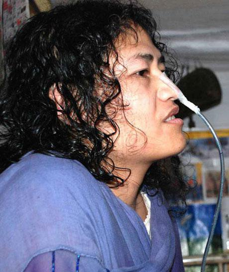 Amnesty International recognizes Irom Sharmila as a prisoner of conscience. Wikimedia. Some rights reserved.