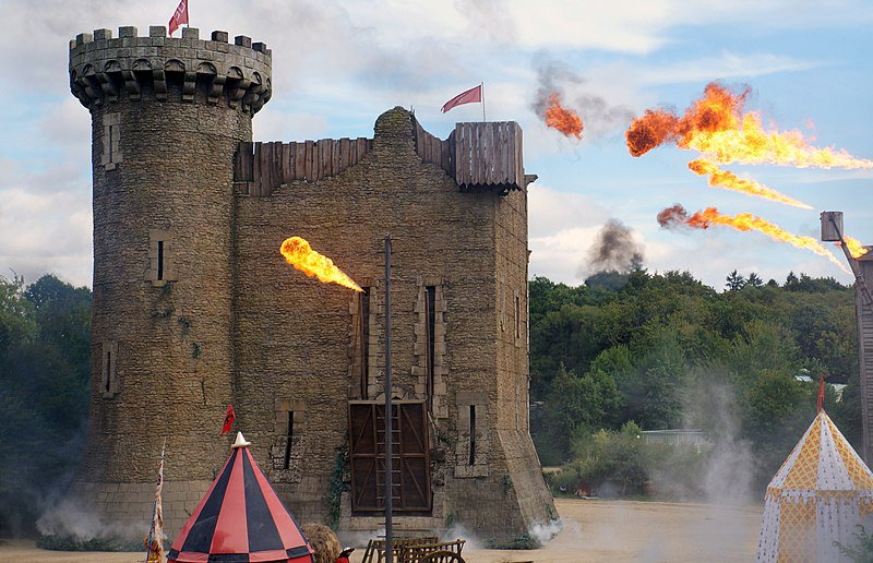 Another Puy Du Fou spectacle, 2013.