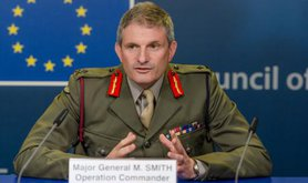 Major General Martin Smith on Operation Atalanta, July,2015.