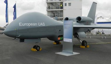 EADS Talarion - European drone model. Graham Tiller/Flickr. All rights reserved.