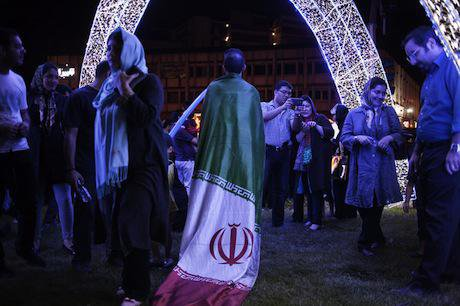 Iranian celebrations. Demotix/Meysam Mim. All rights reserved.