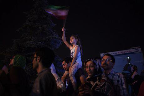 Tehran celebrations. Demotix/Meysam Mim. All rights reserved.