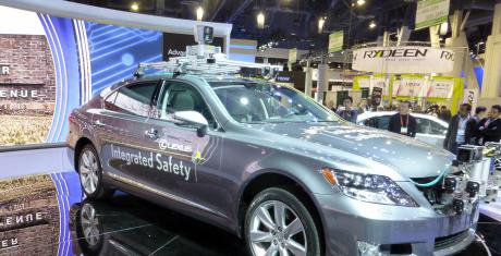 Toyota unveil a self-driving car in 2013. IEEE's new standards could change how companies use AI