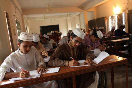 A madrasa in Dhaka.