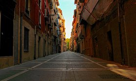 The streets of Pamplona, Spain. Flickr/Paul D'Ambra. Some rights reserved.