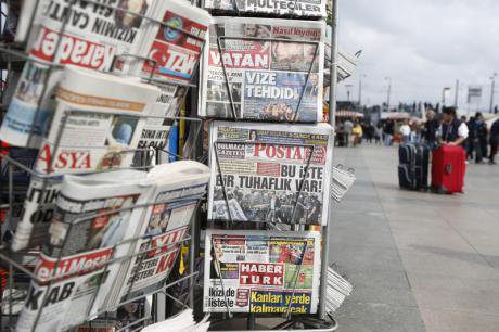 Turkey issued a total media ban over Ankara bombings.