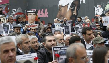 Oct 31, Galatasaray, Saturday Mothers gather in call for justice for the Kurdish disappeared in Turkey's attempt to root out the