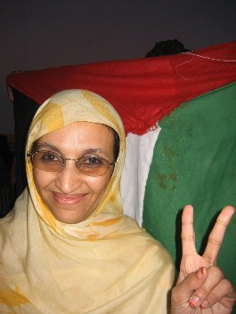 Aminatou Haidar, Sahrawi activist who won the Robert F. Kennedy Jr. Prize/ Some right reserved